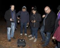 De Paranormale Maatschappij van Brooklyn tijdens onderzoek Royalty-vrije Stock Afbeeldingen