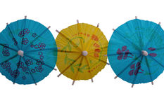 De Paraplu's van de cocktail Royalty-vrije Stock Afbeelding