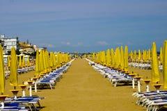 De paraplu's van de zon Royalty-vrije Stock Afbeelding