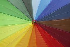 De paraplu van Colourfull Royalty-vrije Stock Afbeeldingen