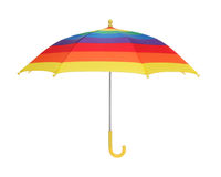 De Paraplu van de regenboog Royalty-vrije Stock Foto