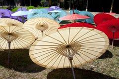 De Paraplu van het document Royalty-vrije Stock Afbeeldingen