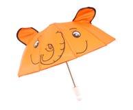De paraplu van het jonge geitje Royalty-vrije Stock Fotografie