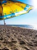 De Paraplu van het strand royalty-vrije stock fotografie