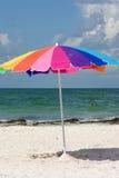 De Paraplu van het strand Stock Fotografie