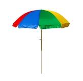 De Paraplu van het strand Stock Afbeelding