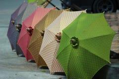 De paraplu van Thailand Stock Afbeelding