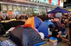 De paraplurevolutie 2014 van Hongkong Royalty-vrije Stock Fotografie