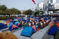 De paraplurevolutie 2014 van Hongkong Stock Afbeelding