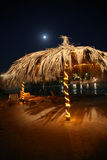 De parasol van de nacht Royalty-vrije Stock Fotografie