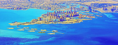 De Parel - Qatar Stock Foto's
