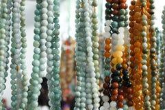 De parels van de jade Royalty-vrije Stock Foto's