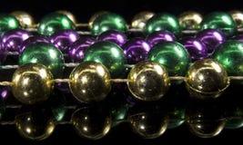 De parels van Gras van Mardi Stock Afbeelding
