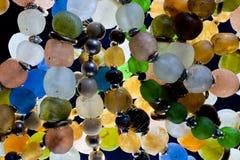 De parels van het glas Stock Foto