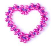 De parels van het hart Royalty-vrije Stock Fotografie
