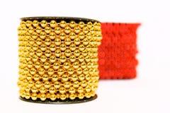De parels van Kerstmis Royalty-vrije Stock Fotografie
