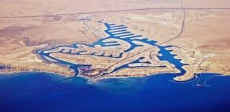 De parelstad van Khiran - Koeweit Royalty-vrije Stock Afbeeldingen