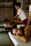 De paren masseren Royalty-vrije Stock Foto's