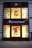 De parfumerie van Marionnaud Stock Afbeeldingen