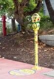 De parkeermeter Miami van de Dakloosheid van het eind Royalty-vrije Stock Foto