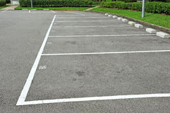 De Parkeerterreinen van de auto Royalty-vrije Stock Foto