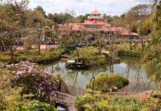 De parken van Disney in Parijs Royalty-vrije Stock Foto's