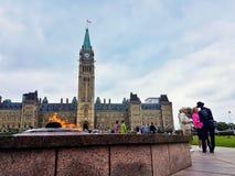 De Parlamentbouw Stock Afbeelding