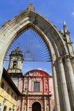 De parochie van San Francisco, Uruapan I royalty-vrije stock afbeeldingen