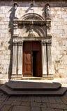 De Parochiekerk St Mary in Cres-stad royalty-vrije stock fotografie