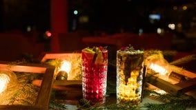 De partij drinkt feestelijk drankconcept Stock Fotografie