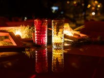 De partij drinkt feestelijk drankconcept Stock Afbeelding