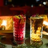 De partij drinkt feestelijk drankconcept Stock Foto's
