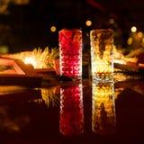 De partij drinkt feestelijk drankconcept Royalty-vrije Stock Foto's