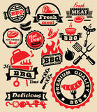 De partij van de barbecuegrill stock illustratie