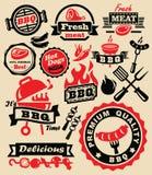 De partij van de barbecuegrill Stock Afbeelding