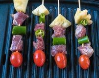 De partij van de barbecuetijd Stock Fotografie