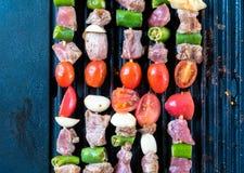 De partij van de barbecuetijd Royalty-vrije Stock Foto's
