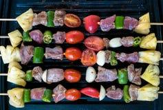 De partij van de barbecuetijd Royalty-vrije Stock Foto