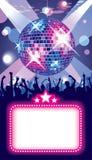 De partij van de disco royalty-vrije illustratie