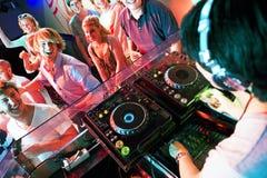 De partij van de disco stock foto's