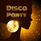 De partij van de disco Vector illustratie stock illustratie