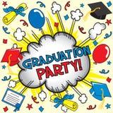 De Partij van de graduatie! Royalty-vrije Stock Fotografie