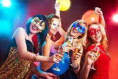 De partij van de jeugd Stock Fotografie