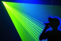 De partij van de laser Stock Afbeeldingen