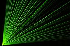 De partij van de laser Stock Foto's