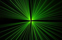 De partij van de laser Royalty-vrije Stock Foto's