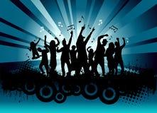 De partij van de muziek royalty-vrije illustratie
