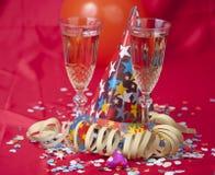 De Partij van de oudejaarsavond Royalty-vrije Stock Foto's
