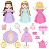 De partij van de prinses royalty-vrije illustratie