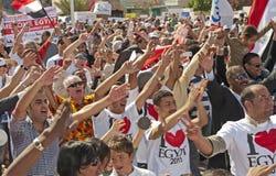 De partij van de straat in Hurghada, Egypte Royalty-vrije Stock Foto's